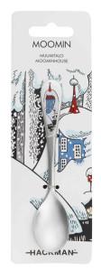 Muminhuset vintersked 2016 från Hackman. En säsongsprodukt i begränsad upplaga som passar till säsongsmuggen och säsongs skålen Snöhästen från Arabia. 99 kr.
